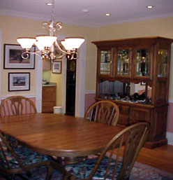 Belhaven Water Street Bed & Breakfast, Ltd dining room