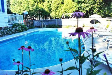 Atlantic Birches Inn, Heated in-ground pool