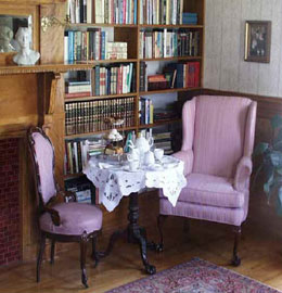 The Governor's House in Hyde Park,tea table