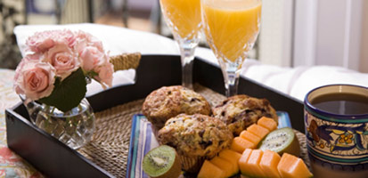 Port D'Hiver Bed and Breakfast, sunset, Enjoy A Delicious Breakfast Each Morning