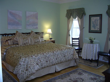 Maria's Love Point Bed and Breakfast, The Blue Heron Room