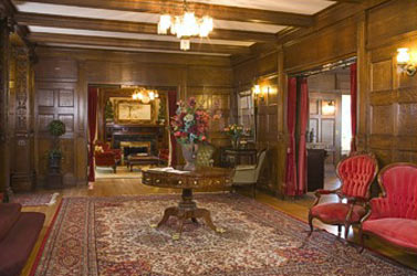 The Shafer Baillie Mansion, Entry Way