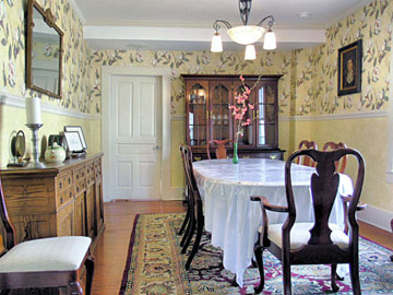 Terrell House Bed and Breakfast Dining Room