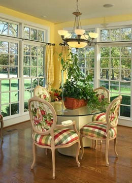 Bluegrass Country Estate Dining Room