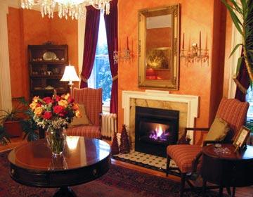 Willard Street Inn, living room