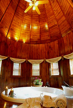 Buhl Mansion Guesthouse & Spa-Round Jacuzzi for Two