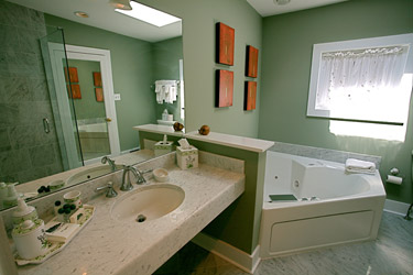 Sweetwater Farm-Greenhouse bathroom