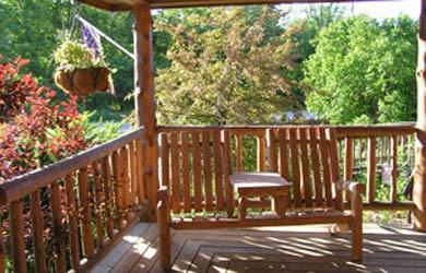 The Glen Lodge-bench