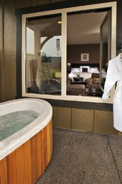 Le Puy A Wine Valley Inn, Luxurious Private Baths