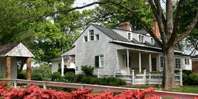 The Inn at Bingham School front of inn