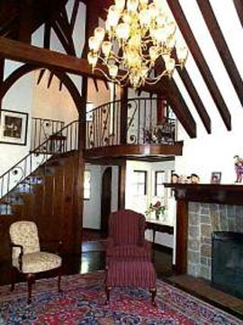 Fitzgerald's Irish Bed and Breakfast Living Room