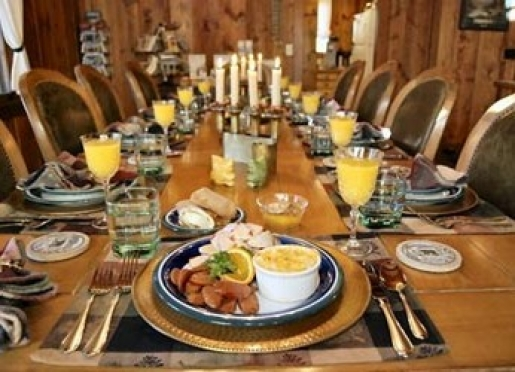 A 3-course gourmet breakfast is served each morning to our Colorado B&B guests