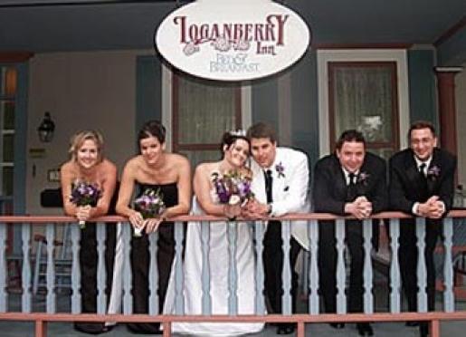 We perform weddings at Loganberry Inn