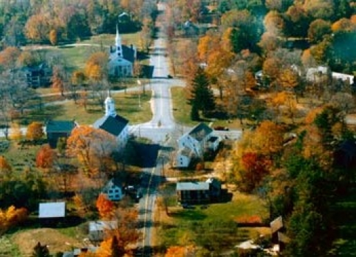 Petersham is a picturesque New England town.