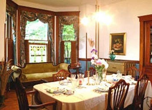 Enjoy breakfast in our elegant dining room.