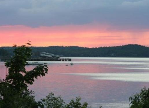 Sunsets at the Saltair Inn