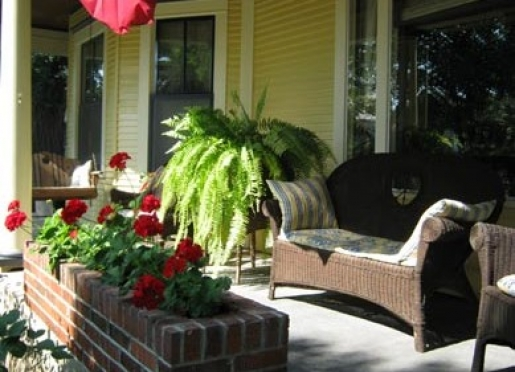 Old-Fashioned Front Porch