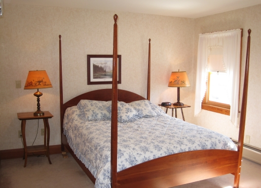 Guest room in the inn.