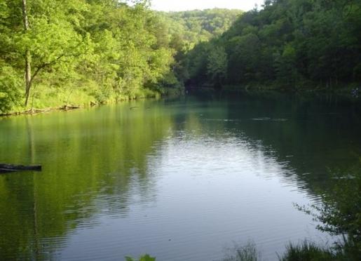 Mirror Lake - Blanchard Springs Caverns Recreational Area