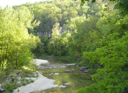 N. Sylamore Creek-Blanchard Springs Caverns Recreational Area