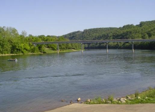 WHITE RIVER at Sylamore Creek Access