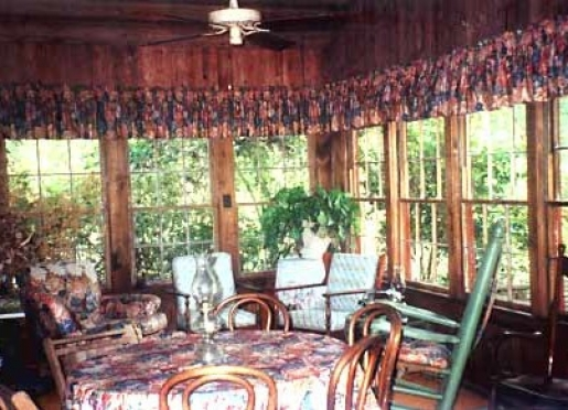 The Sun Room is a great place for breakfast or an evening snack.