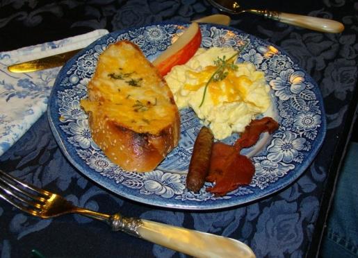Enjoy A Delicious Full Breakfast Each Morning in Breeden Inns' Main House