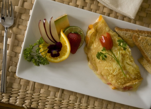 Create your own omelet