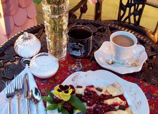 Gourmet breakfasts are the hallmark of Holden House...