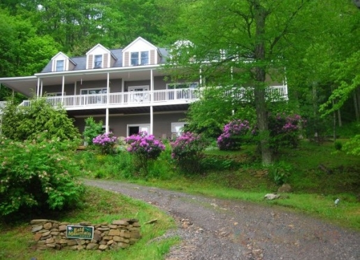 Bald Mountain House At Wolf Laurel In Spring