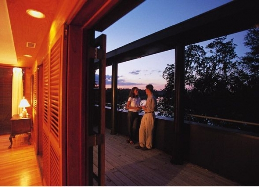 The Ashley River Room offers a wrap around deck to enjoy the view of the Ashley River