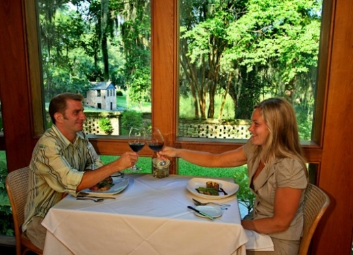 Middleton Place Restaurant offers guest a elegant candlelit dinner experience!