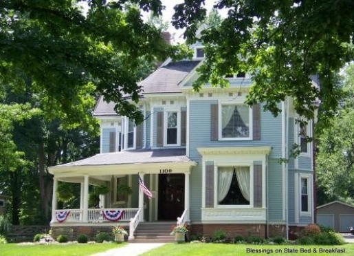 Blessings on State Bed and Breakfast - Jacksonville, Illinois