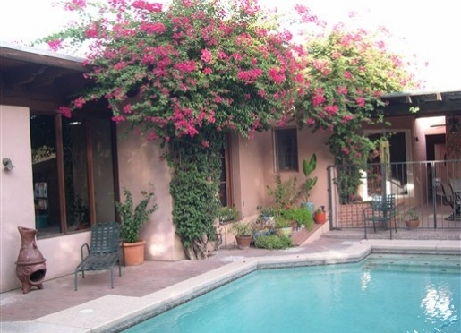 Big Blue House - Tucson, Arizona