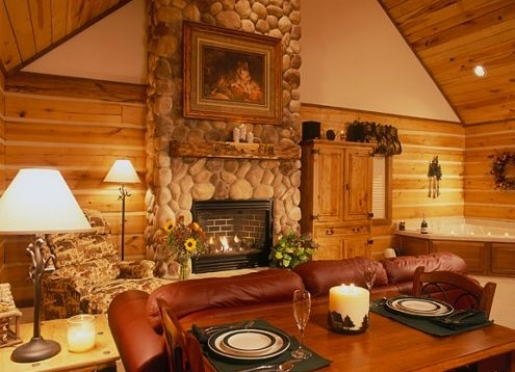 The Striking Stone Fireplace