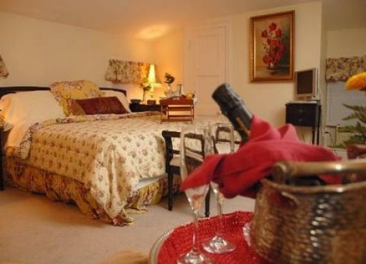 Our largest room is sparkling, luxurious and carpeted with a King-size bed and Sealy mattress