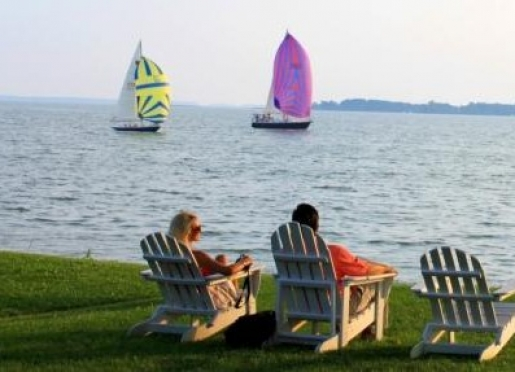 sandaway waterfront lodging oxford maryland maryland 39 s eastern shore. Black Bedroom Furniture Sets. Home Design Ideas