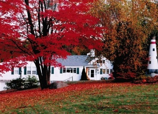 The Lighthouse Inn B&B shows off its fall colors