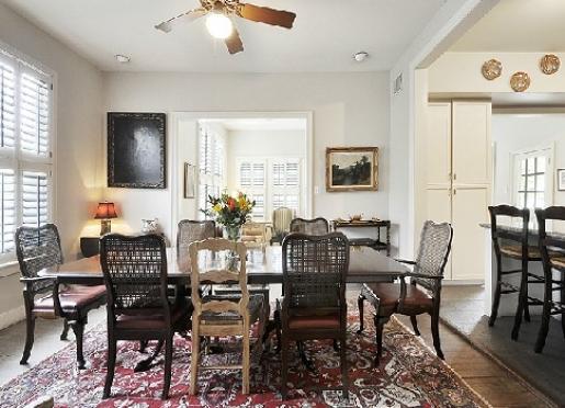 Enjoy breakfast in the dining room.
