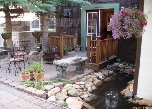Our award-wining courtyard