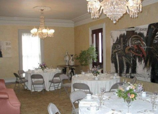 Function Space for dinners, showers, weddings.