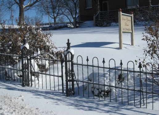 Winter at the Stone-Yancey House Bed and Breakfast