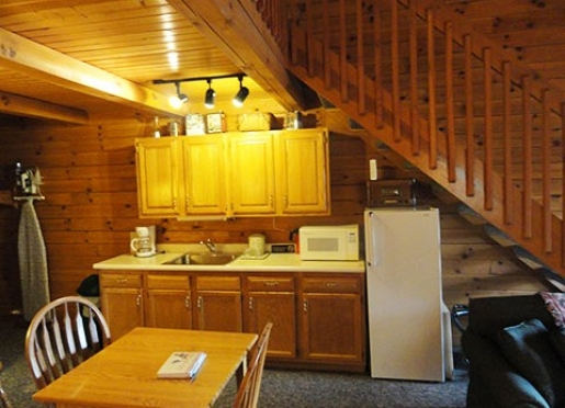 log cabin kitchens pictures