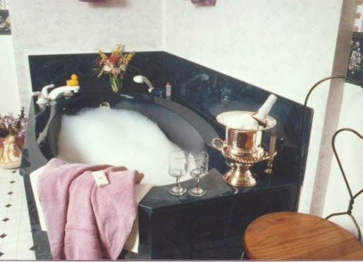 Luxurious and well appointed suites and private baths...