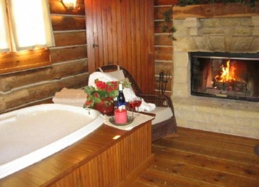 Cabin Life Guest House Romantic Jacuzzi