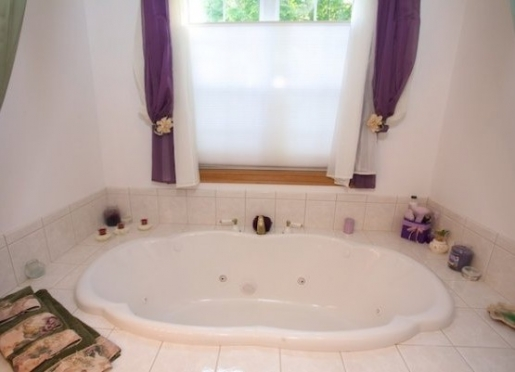 Pamper Someone You Love With A Getaway To Allegan Country Inn's West Wing room with jacuzzi tub.