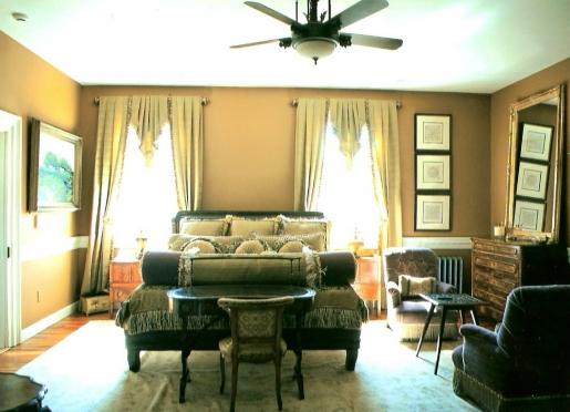 Riddick House Master Bedroom