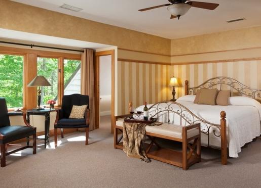 Spacious Woodland room