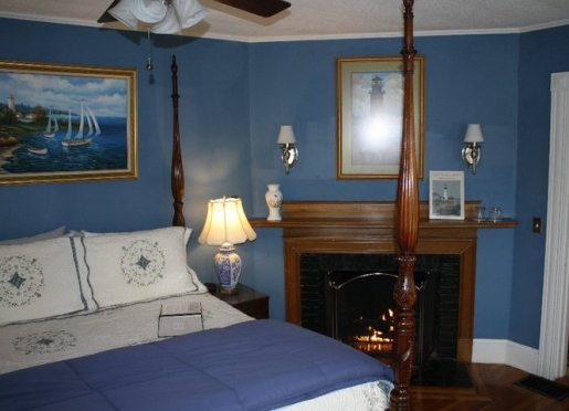 Chart Room Fireplace