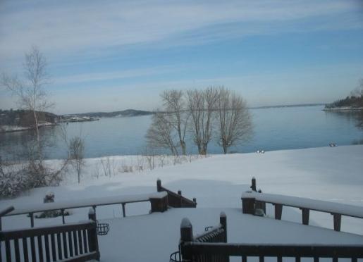 Winter at the Saltair Inn